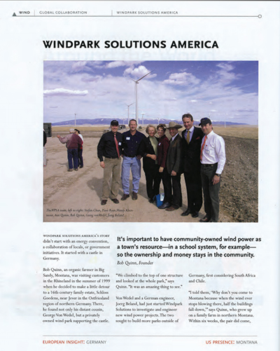 windpark solutions